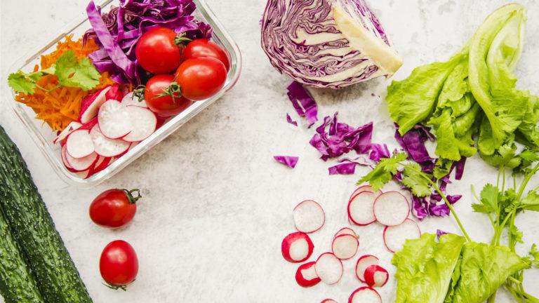 Dieta vegana vegetariana e crudista